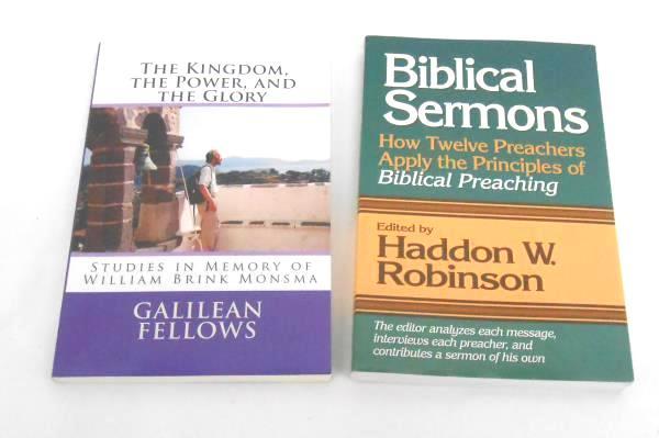 Lot of 5 Christian Paperback Leadership Sovereignty Biblical Books