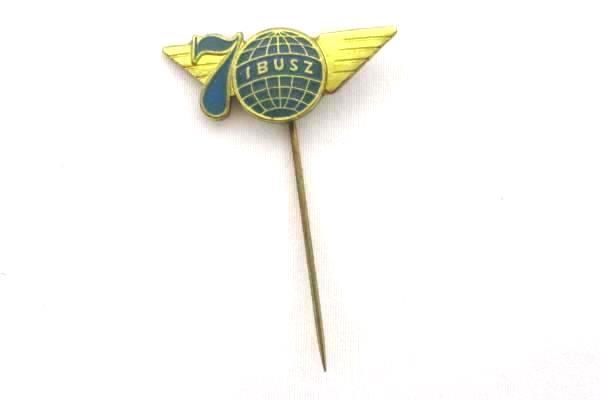 Lot of 4 Vintage Lapel Hat Pins Korea Travel International & More