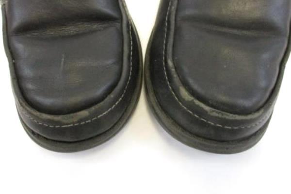 Healthtex Boy's Black Dress Loafers Slip On Youth Size 10 Child Kid