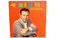 "Jim Reeves LP 33 RPM ""The Best Of Jim Reeves"" RCA Victor 1964 Record"
