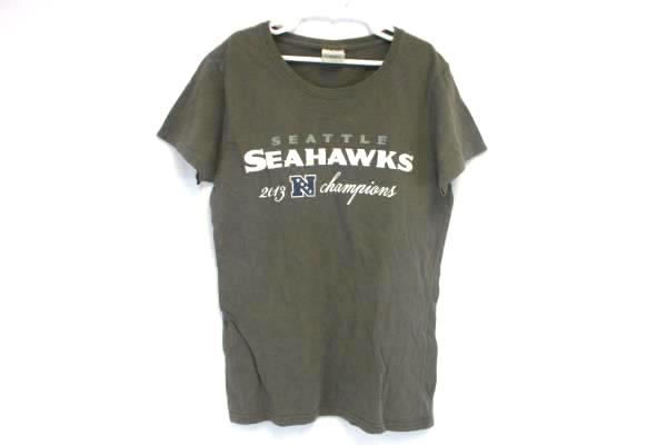 NFL Seattle Seahawks Grey 2013 N Champions T-Shirt Womens Fit Small