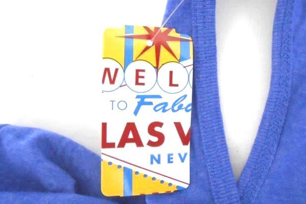 Women's LAS VEGAS Tank Top Size Large Purple Welcome To Fabulous Las Vegas NV