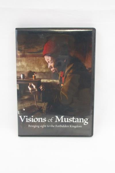 VISIONS OF MUSTANG Bringing Sight to the Forbidden Kingdom DVD Daniel Byers Film