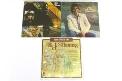 Lot of 3 B.J. Thomas Vinyl LP Records Billy Joe Thomas The Best Of You Gave Me