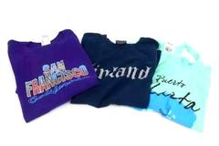 3 Vacation Shirts Tops Puerto Vallarta Mexico Finland San Francisco Womens M