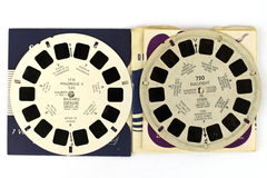 Lot of 2: View-Master Bullfight & Majorque Iles Spain Typeset Reels #720-1731