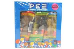 Star Wars Pez Candy And Dispenser 12 Count Sealed Case #353 Counter Display