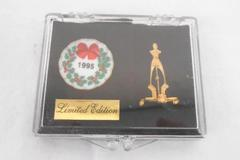 Rare Limited Edition Christmas Plate Dollhouse Miniature by Dee's Delights