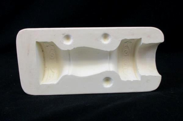 1973 Duncan Ceramics Cigarette Lighter DM No 367A Ceramic Mold Cast