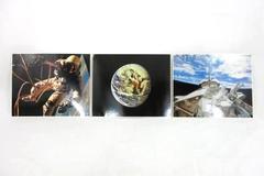 "NASA Laser Photo Action Impact 8""x10"" Collectors Photos Challenger Ed White"