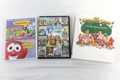 Media Lot of 3 DVDs Book Timeless Children's 12 Bible Stories VeggieTales