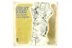 Jerry Reed LP 33 RPM VINYL I'm A Lover Not A Fighter JS -6127