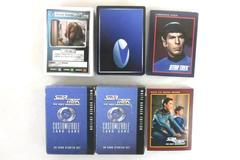 Lot of Vintage Star Trek CCG The Next Generation 60 Card Starter Pack 1991 1995