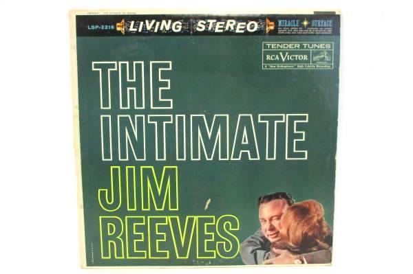 The Intimate Jim Reeves LP VINYL 33RP LSP 2216