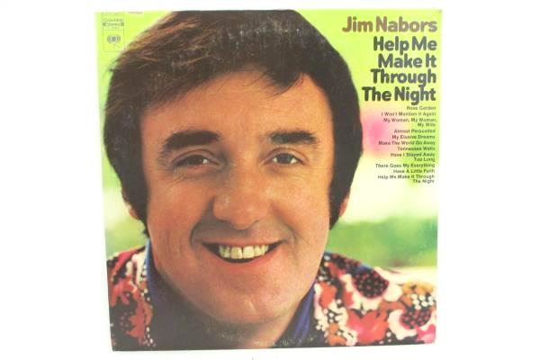 Jim Nabors LP 33 RPM - Help Me Make It Through the Night