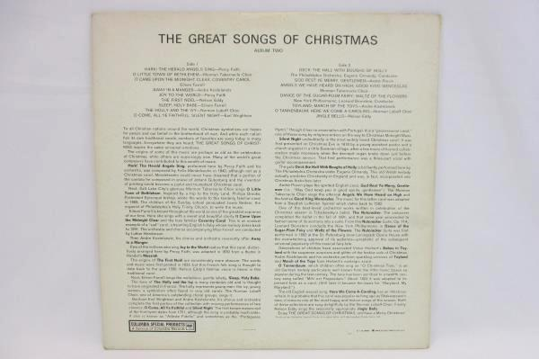 Vtg 60s The Great Songs of Christmas Album Two Collectors Limited Edition LP