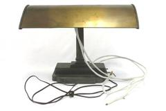 Art Deco Desk Table Lamp Globe Vintage Antique Office DIY Project M 50 - B