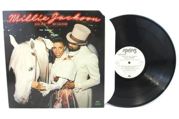 Millie Jackson - Just A Lil Country - Spring 1-6732  LP 33 RPM VINYL