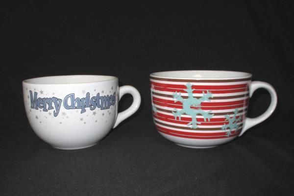 Lot Of Holiday Mugs - 3 Soup Mugs 5 Coffee Mugs Royal Norfolk Design Studio