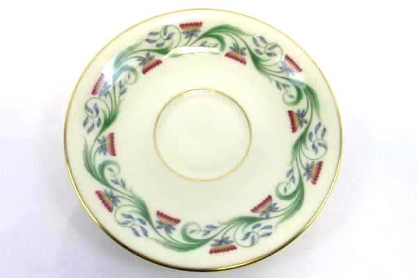 Lenox Monterey Pattern Replacement Saucer Flowers Gold Rim USA