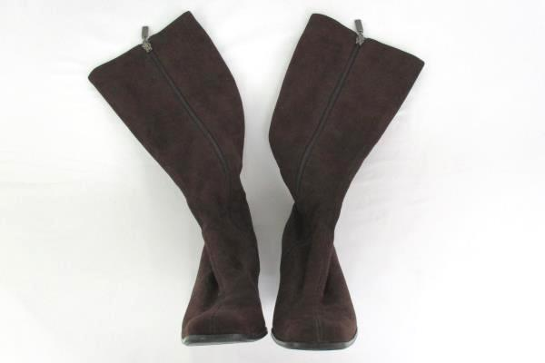 Candie's Brown Micro Suede Knee High Riding Style Boots Women's 7.5M