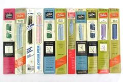 """Lot of 11 Talon J&P Coats & Clarks 7 Inch To 22"""" Zippers Assorted Colors"""