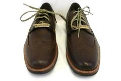Dockers Men's Oxford Wingtip Dress Shoes Brown Leather 90-36042 Size 8.5M