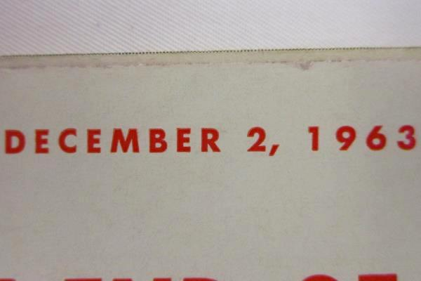 Vintage U.S. News & World Report December 1963 The Tragic End Of John F. Kennedy