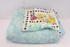 VTG Royal Family Cannon FULL Bedspread Comforter Bright Abstract RETRO MOD