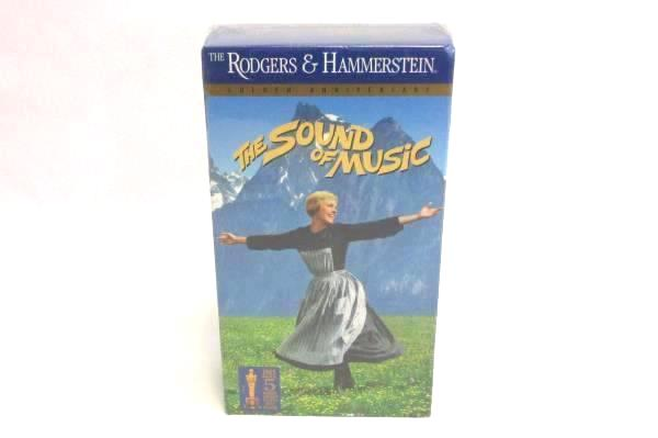The Sound of Music Sealed VHS Set Rodgers & Hammerstein Anniversary