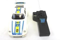Vintage 1986 Radio Shack Remote Controlled White Porsche #27 911 Racing 60-3094