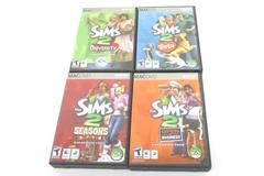 Lot of 4 Sims 2 Expansions for MacOS: Pets+Seasons+University+Open for Business