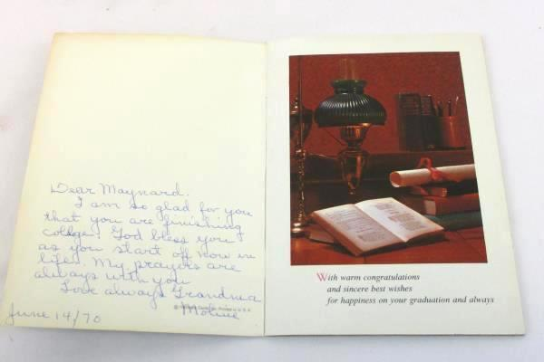 Vintage HALLMARK TREASURES BOOK BOOKLET Look To The Future USA Graduation