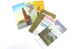 Lot of Vintage Travel Brochures From Scandinavia Circa 1950s Sweden Norway