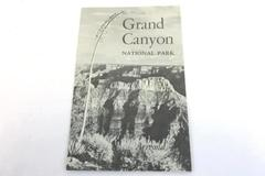 Rare Vintage 1956 Grand Canyon National Park Brochure Booklet - 15 Pages