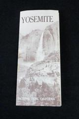 Vintage 1957 Yosemite National Park Guidebook - 31 Pages w/ Full Map
