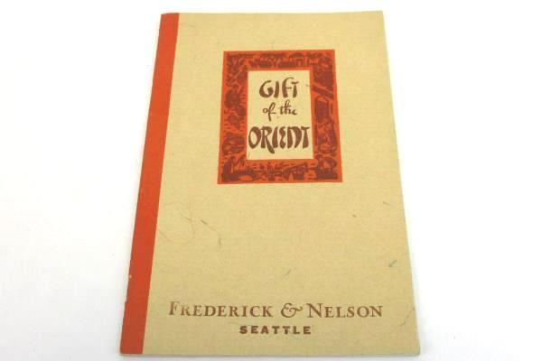 Gift of the Orient Kerman Rug & Trading Co Booklet San Francisco Ca 1938