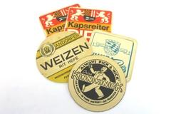 Lot of Vintage Cardboard Paper Coasters Beer Advertising US / Germany / Austria