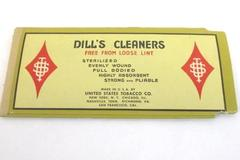 Dill's Best Tobacco Pipe Cleaners Vintage Package of 8 Free From Loose Lint