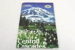 National Geographic Society 2009 Central Cascades Map Poster Tourism Mapguide