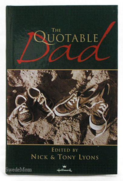 THE QUOTABLE DAD Nick & Tony Lyons HALLMARK HC 2001