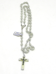 SET OF PLASTIC ROSARY BEADS (ITALY)