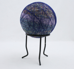 "LARGE Ball Of Thread  With Stand 5.5"" Diameter"