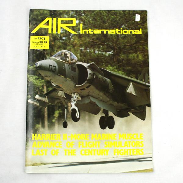 Air International Magazine October 1986 Vol 31 NO. 4