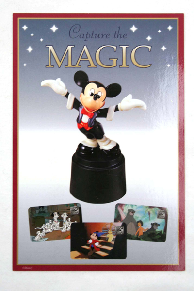 """WDCC Mickey Sculpture Post Card 6""""x4"""""""