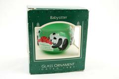 HALLMARK KEEPSAKE ORNAMENT Babysitter 1985
