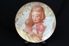 Hamilton Group Viletta China Portraits of Childhood Series SWEET DREAMS 1982