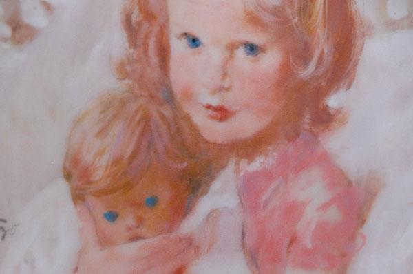 Hamilton Group Viletta China Portraits of Childhood Series SWEET DREAMS 1982