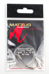 Matzuo America 30 Lb Mooching Rig Fixed Type Size 5-6