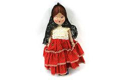 Vintage Spanish Girl Doll